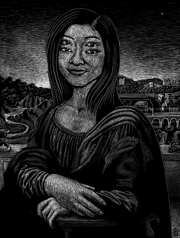 gwen tomahawk leonardo da vinci mona lisa la joconde Entre 1503 et 1506 ou entre 1513 et 1516, peut-être jusqu'à 1519