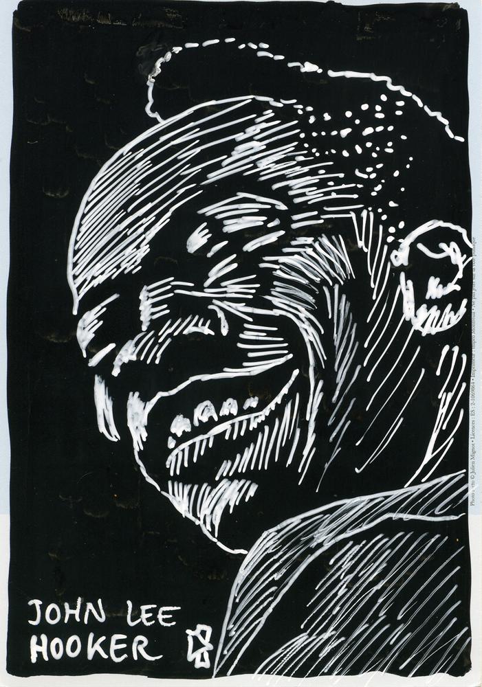 gwen tomahawk Black & Blue blues and jazz portraits