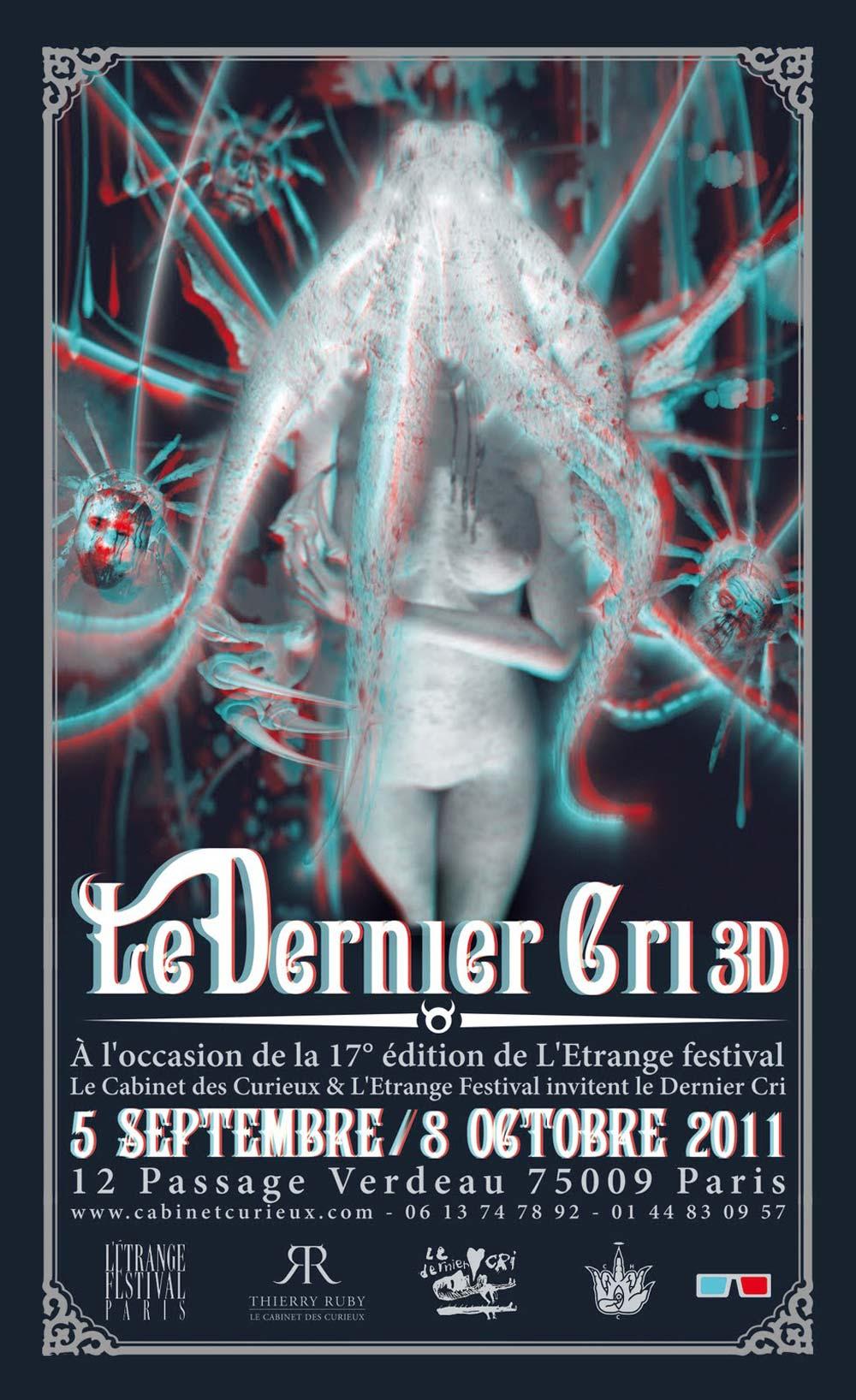 « 3DC » Le Dernier Cri (Paris 9e - Le Cabinet des Curieux)