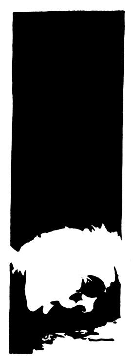 Linogravure fontainebleau illustration Gwen Tomahawk