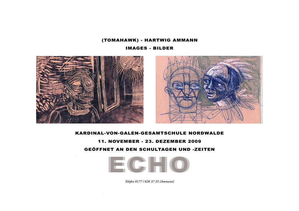Gwen Tomahawk « Echo(s) » avec Hartwig Ammann (Nordwalde - Germany)