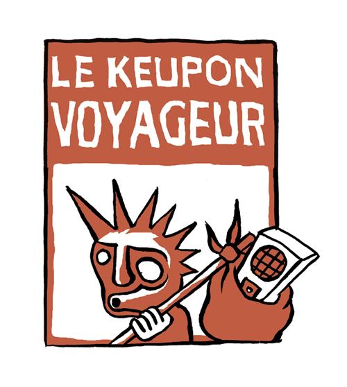 Gwen Tomahawk Logo Le Keupon Voyageur