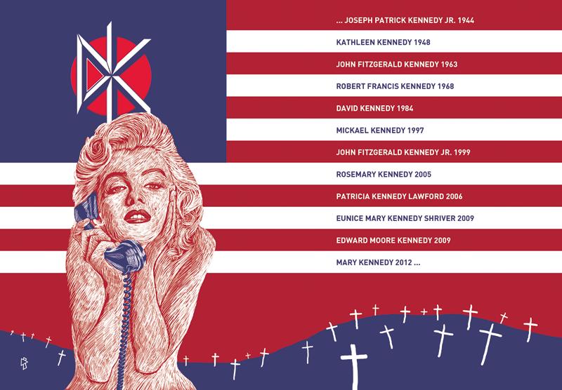 Gwen Tomahawk Speedball Maledixion Graphiste Illustrateur Fontainebleau Dead Kennedys Marilyn Monroe