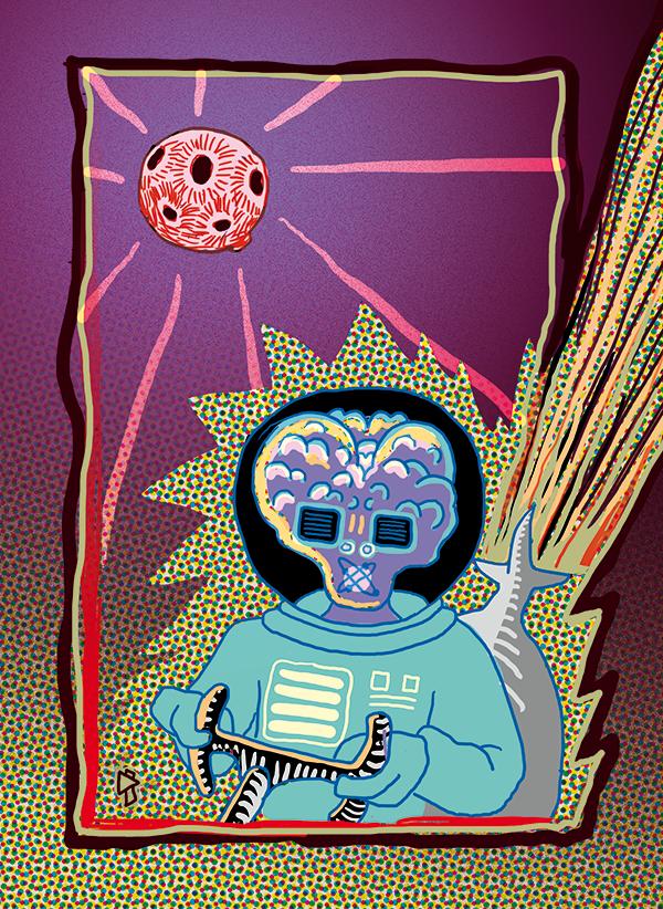 Gwen Tomahawk Kronik Komiks Space Robot