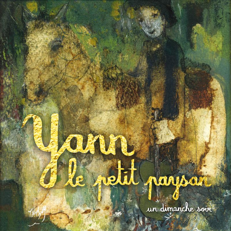 Gwen Tomahawk Tanguy Pochette CD Yann Le Petit Paysan Un Dimanche Soir Graphisme Illustration Fontainebleau