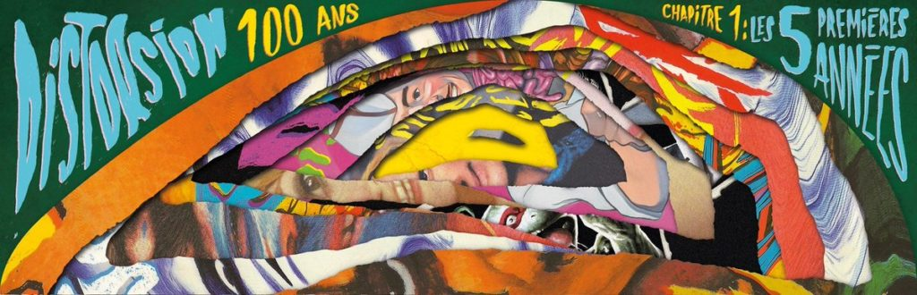 Distorsion 5 ans Couverture collector