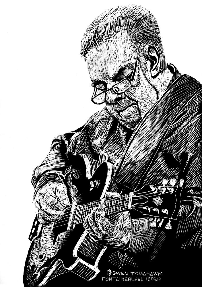 Festival Django Reinhardt Fontainebleau Samois sur Seine Gwen Tomahawk AKFG Éditions